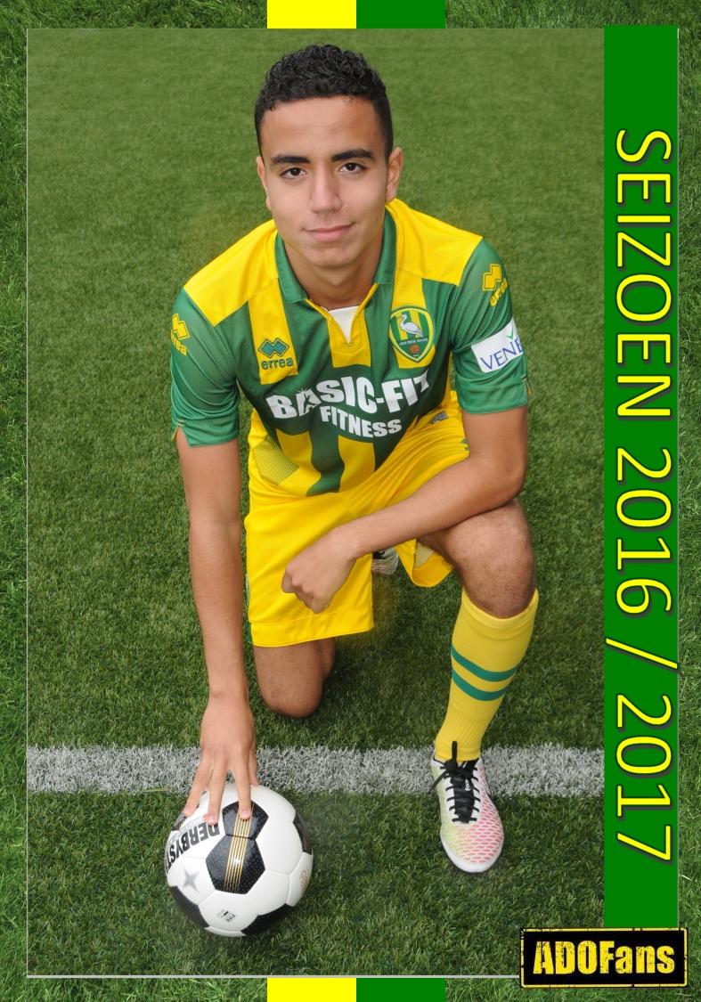 ADO speler Mahdioui